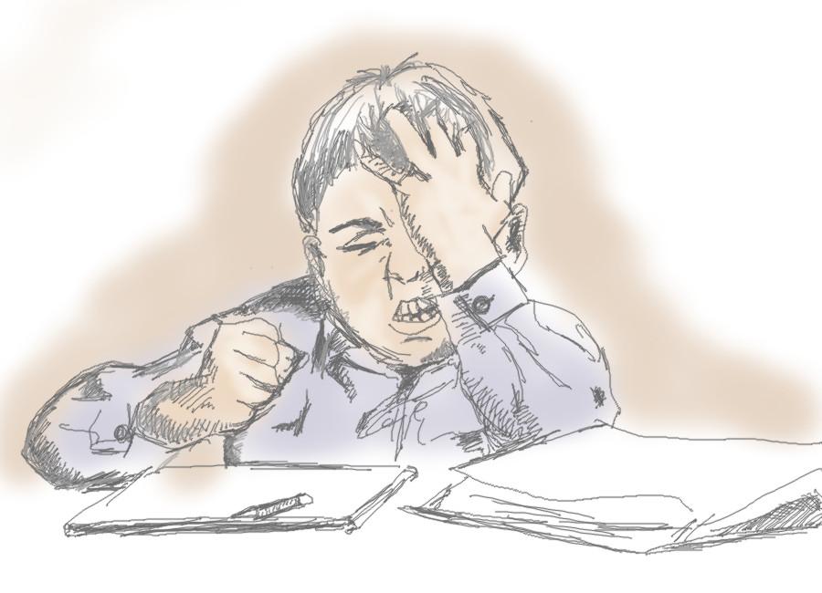 niño frustración