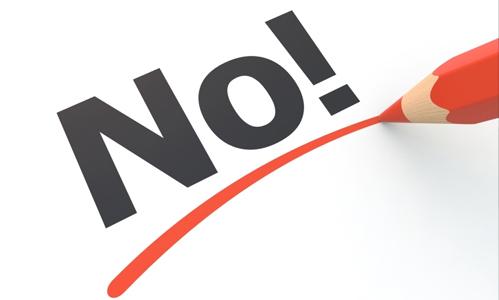Asertividad - la importancia de saber decir no