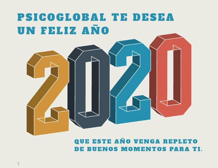 PsicoGlobal te desea Feliz 2020