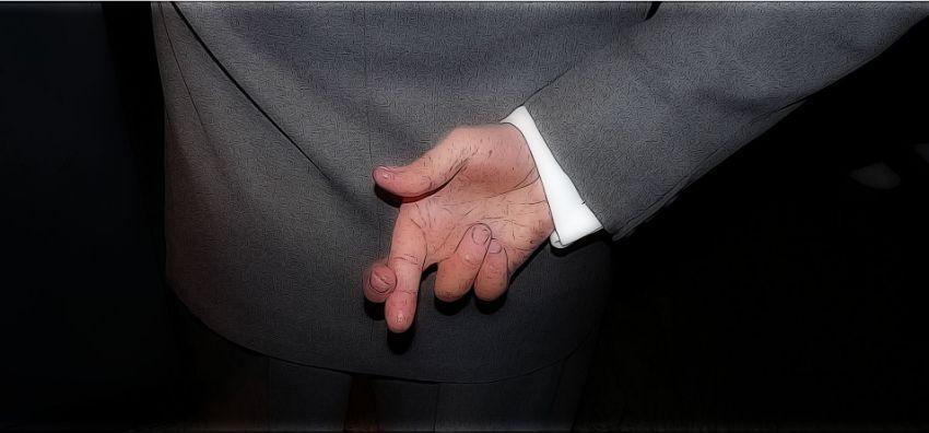 dedos cruzados