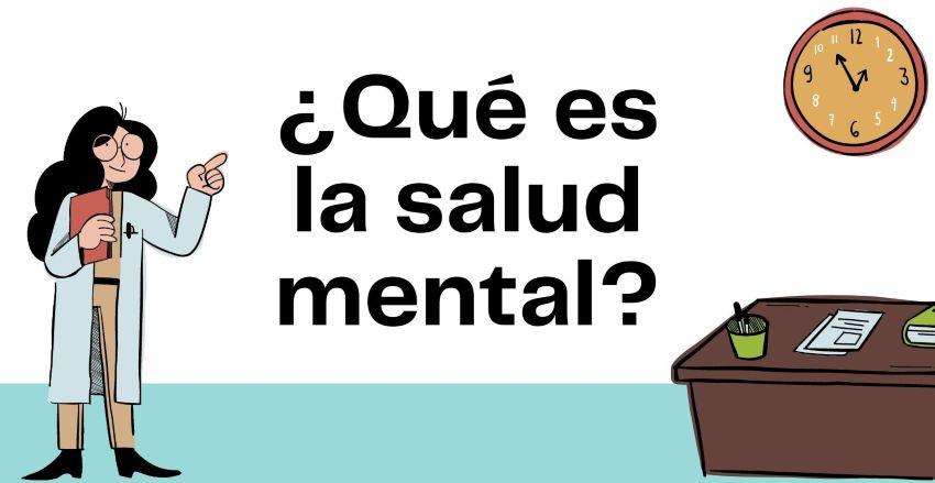 Qué es la salud mental.